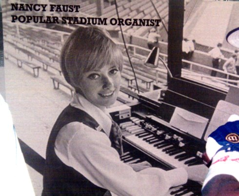 Comiskey Park Chicago Illinois featuring beautiful, popular stadium organist