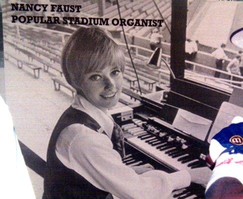Comiskey Park Chicago Illinois featuring beautiful, popular stadium organist