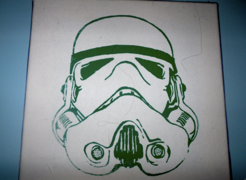 Green storm trooper.