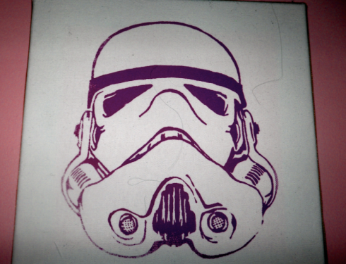 Purple Storm Trooper
