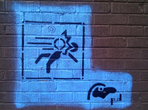 Blue portal picture.