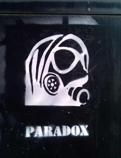 Paradox graffiti